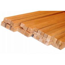 Опора индивидуальная (сосновая рейка) квадрат 25мм